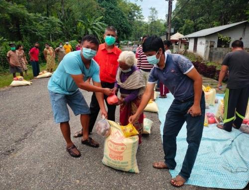 Distribution de nourriture